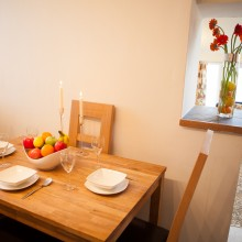 Llandegla holiday cottage kitchen