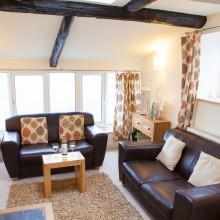 Llandegla holiday cottage lounge